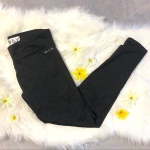 Marc New York Dark Grey Fleece Lined Leggings